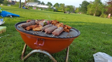 Strap the BBQ to your bike and head to the park!