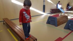Saturday morning gymnastics