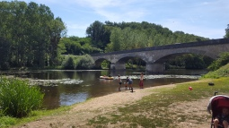 A day at a river near Poitiers.