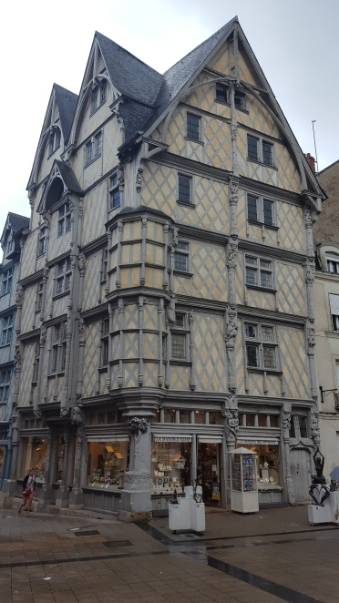 A really old building in Angers.